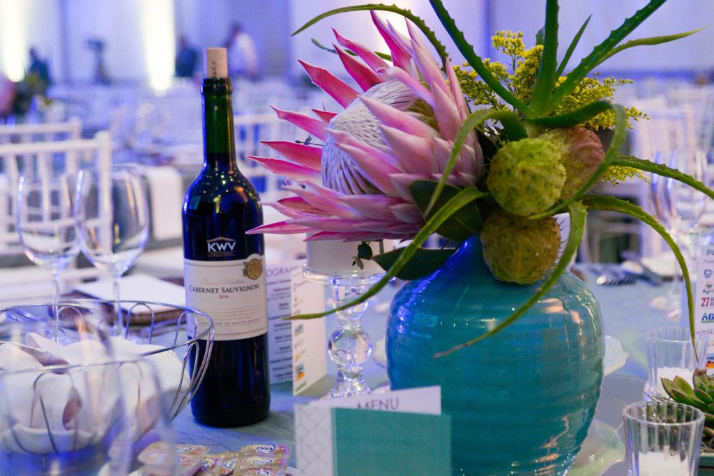 Gallery Deciduous Fruit Gala Evening Awards 2018 Table Decor With Protea
