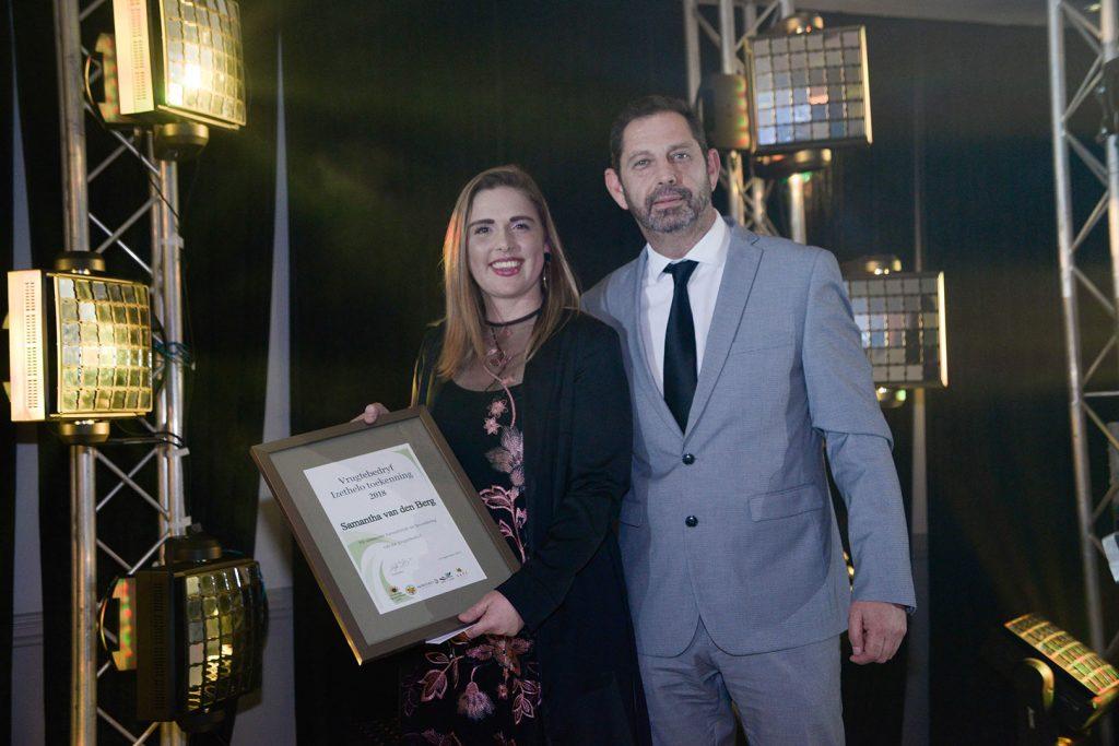 Gallery Deciduous Fruit Gala Evening Awards 2018 Samantha Van Den Berg