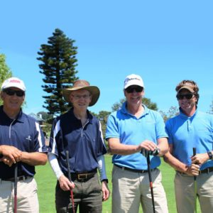 Team HORTGRO Science; Arrie De Kock, Richard Hurndall, Hugh Campbell And Stephen Rabe.