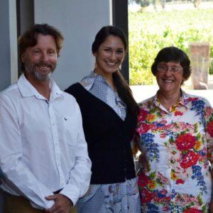 (FLTR) Stephen Rabe, Saskia Von Diest And Cheryl Lennox