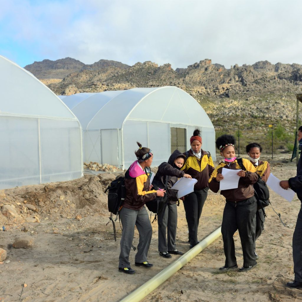 Learners Active At The New Tunnels (2)